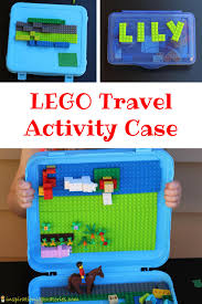 taking lego bricks on the go is easy with a lego travel activity case made possible