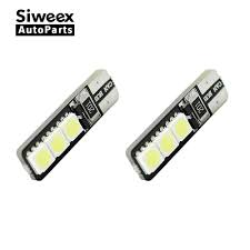 <b>2pcs</b>/<b>lot</b> Bright Double No Error <b>T10 LED 194</b> 168 W5W <b>Canbus</b> 6 ...