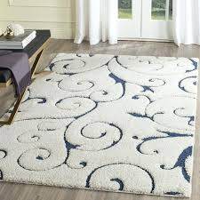 blue and cream area rug attractive find the best deals on chandra rugs vingel rectangular hand knotted within 7