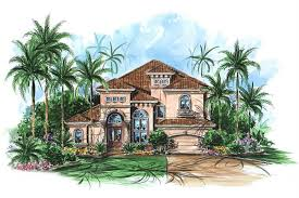 175 1076 4 bedroom 3430 sq ft coastal house plan 175 1076 front