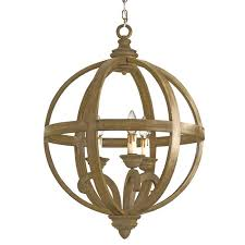 currey and company axel orb chandelier small