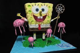Spongebob Squarepants Cake Standing Spongebob Cake For A 1 Flickr