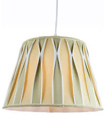 1 light plug in swag pendant lamp biege off white shade