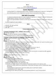 Stunning Sap Apo Resume Contemporary Example Resume Ideas