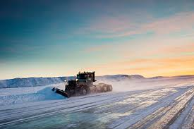 Ice Roads Ease Isolation in Canada