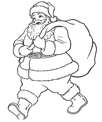 Small Picture Santa Claus Coloring Page chuckbuttcom