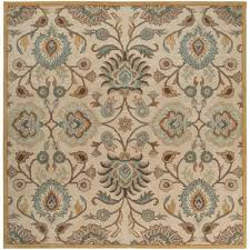 artistic weavers artes beige 10 ft x 10 ft square area rug