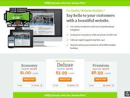 Godaddy Website Templates Magnificent Godaddy Website Builder Personal Templates Spacerchaser