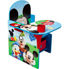 com disney chair desk with storage bin mickey mouse characters desk set fabric storage bin seat extra storage table desk chair mdf construction