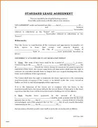Printable Blank Lease Agreement Form Free Word Residential Pdf ...