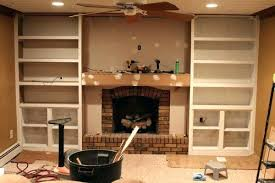 bookcases built in bookcases next to fireplace built in bookshelves fireplace fireplace makeover with made