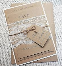 diy country wedding decorations fresh unique diy wedding invitation kits