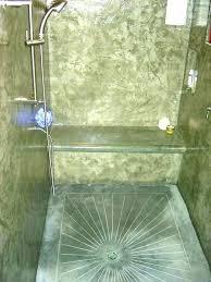 concrete shower floor s paint