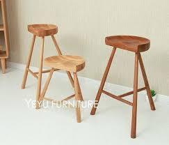 fashion popular modern design solid oak wood bar stool low stool modern wooden bar stools modern