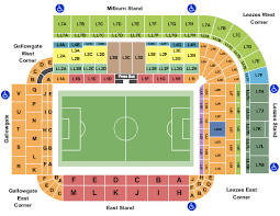 Sunderland Empire Seating Chart St James Park Seating Charts For All 2019 Events