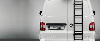 Van Door Ladder | Rear Door Ladder - Rhino Products