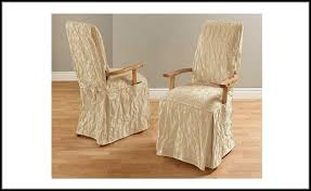 Slipcovers For Chairs With Arms  E