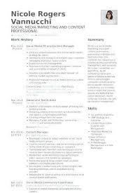 Social Media Manager Resume Unique Social Media Specialist Resume Inspiration Social Media Manager Resume