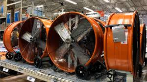 quiet fans for works and garages