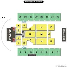 Seating Chart For Hershey Park Stadium With Seat Numbers Hershey Park Stadium Seating Chart With Seat Numbers Best