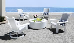 how to clean sling patio furniture