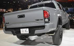 2018 toyota tacoma colors. modren 2018 2018toyotatacomarearview throughout 2018 toyota tacoma colors