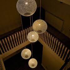 stairwell lighting ideas. pendant lights powder coated in an u0027oldu0027 white and hung a cluster over stairwell rita 400 pinterest lighting ideas r