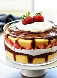Strawberry Chocolate Pound Cake Trifle Life In The Lofthouse