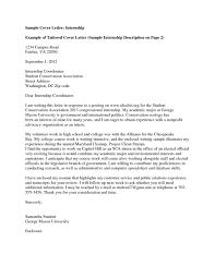 Cover Letter Internship Student Resume And Cover Letter Resume