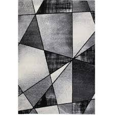 la dole emperor geometric pattern carpet 5 2 x 7 3 rectangle area rug grey black white best canada