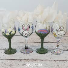learn how to make hand painted wine glasses