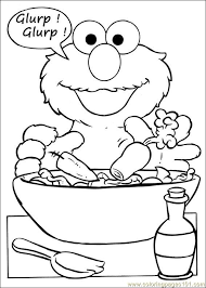 Small Picture free printable elmo coloring pages for kids Coolagenet