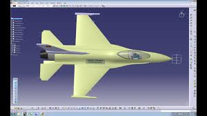 Catia Aircraft Design Tutorial Pdf Catia V5 Tutorial How To Design An Aircraft On Catia F16 Fighter Jet Part 1