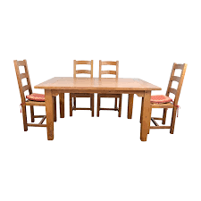 Crate And Barrel Glass Dining Table Dining Sets Used Dining Sets For Sale