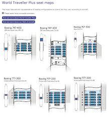 British Airways World Traveller Plus Seating Maps Seating