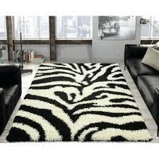 zebra area rug soft black and white zebra print area rug 5 x 7 brown
