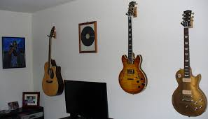 awesome idea hanging guitars on wall layout design minimalist how to hang guitar v sanctuary