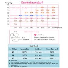 Us 2 33 30 Off Teen Girl Underwear Teenager Girls Training Bras Kids Lingerie Young Puberty Girl Underwear Child Small Bra Teenage Tops Clothes In