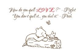 Winnie The Pooh Love Quotes Gorgeous Love Quote Piglet Winnie The Pooh Quote That Was Framed Flickr
