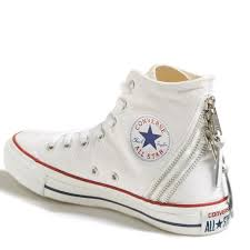 converse shoes high tops white. converse shoes - tri zip white high tops 7 new