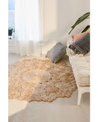 Camila Round Jute Rug  Beige 8u0027 At Urban Outfitters