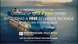 norwegian cruise line au feel free q1 tv ad 30
