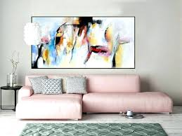 living room canvas art abstract canvas art large abstract contemporary painting panoramic abstract canvas art handmade