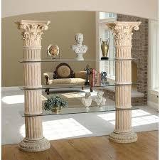 pillars for home decor roman pillars home decor roman columns home