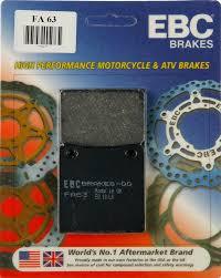 38 74 Ebc Double H Sintered Superbike Rear Brake Pads 982459