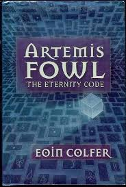 image for the eternity code artemis fowl book 3