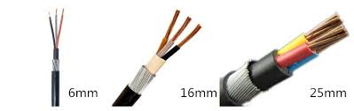 Armoured Cable Diameter Chart 95mm 120mm 185mm 240mm 3 Core Armored Power Cable For Sale Hdc