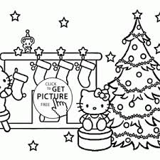 Small Picture Printable Hello Kitty Coloring Pages For Kids Christmas Page adult