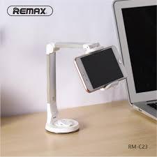remax unversal silver mobile phone holder stand 360 rotating desk phone holder car holder desktop stand