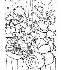 Colora E Disegna Disegno Di Minnie E Topolino Baby Da Colorare